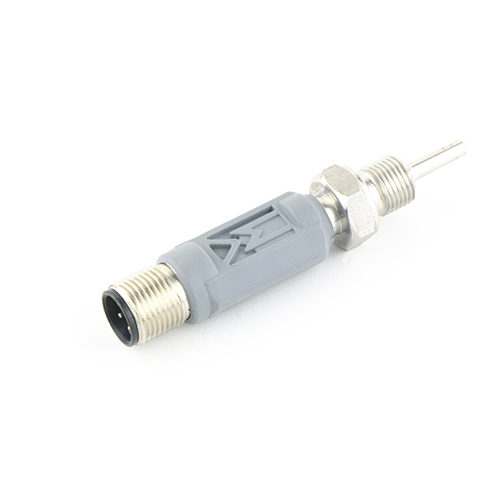 """Screw-in probe with built-in 4-20mA transmitter and G1/8"""" process connection. Plastic enclosure."""