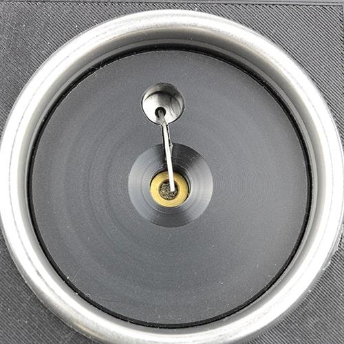 Thermocouple installation in a portafilter for precise measurement of espresso brewing temperature